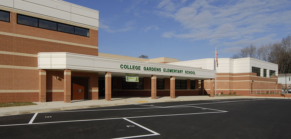 College Gardens Elementary School About Our School