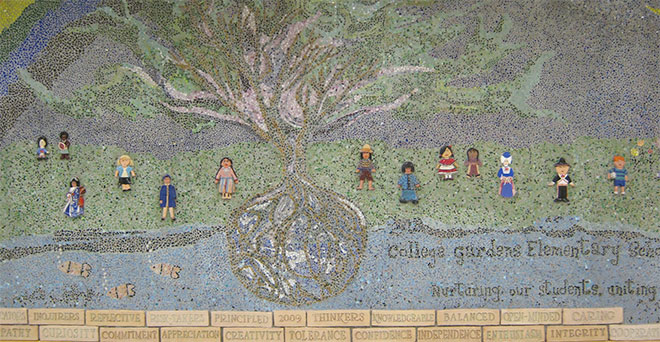 College Gardens Mural