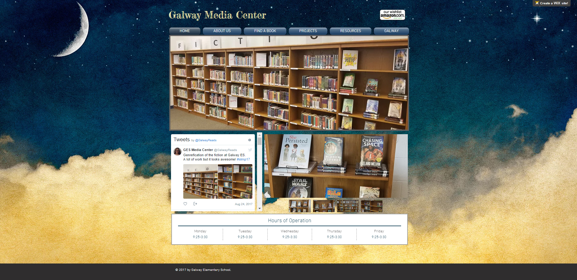Galway Media Center Front Page