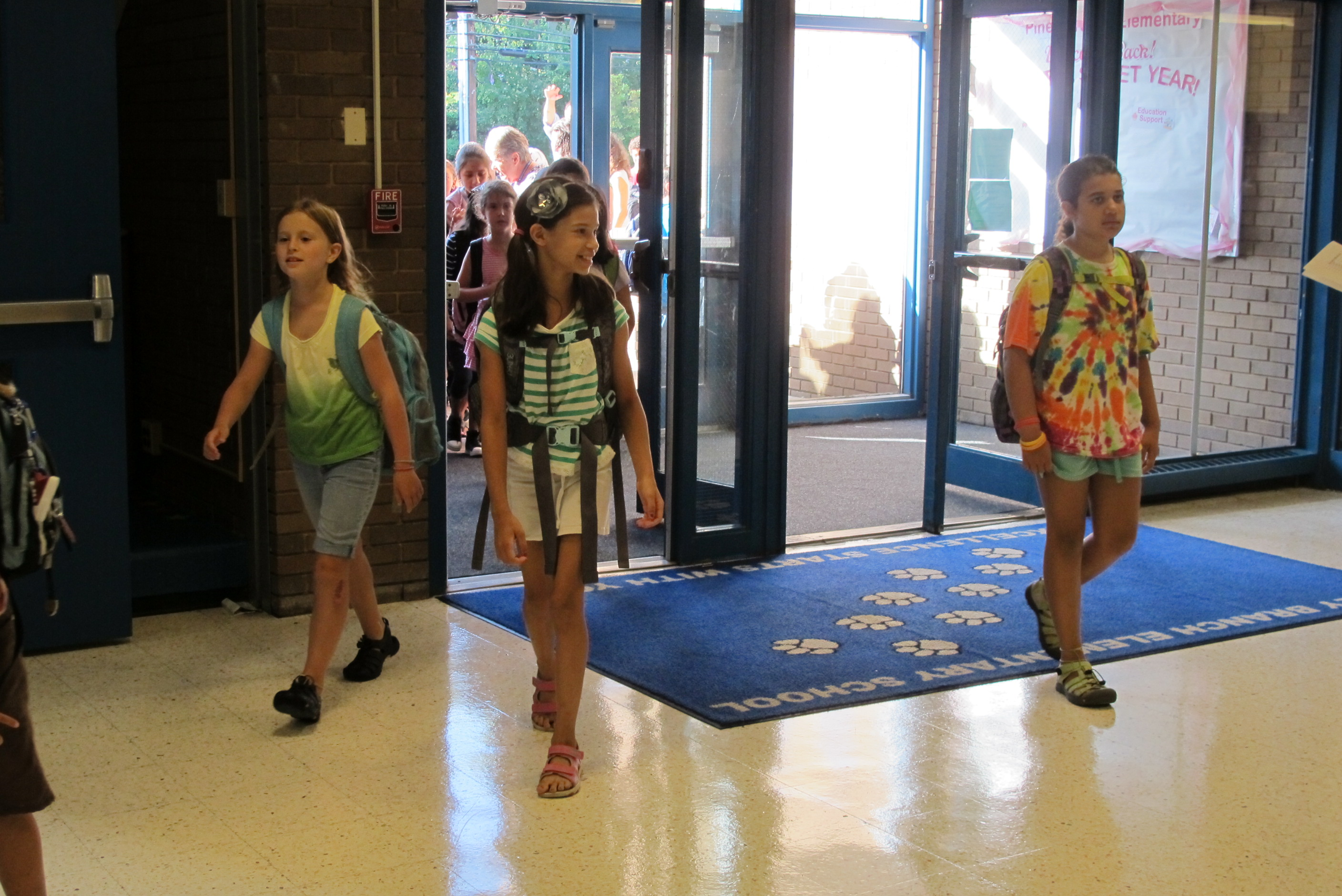 Piney Branch Es Gallery First Day Of School