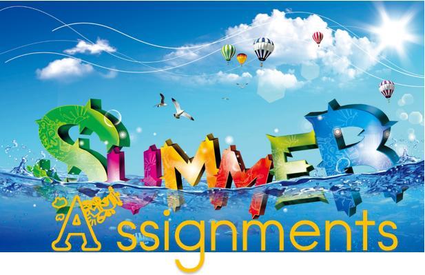 Magruder High School - Summer Assignments