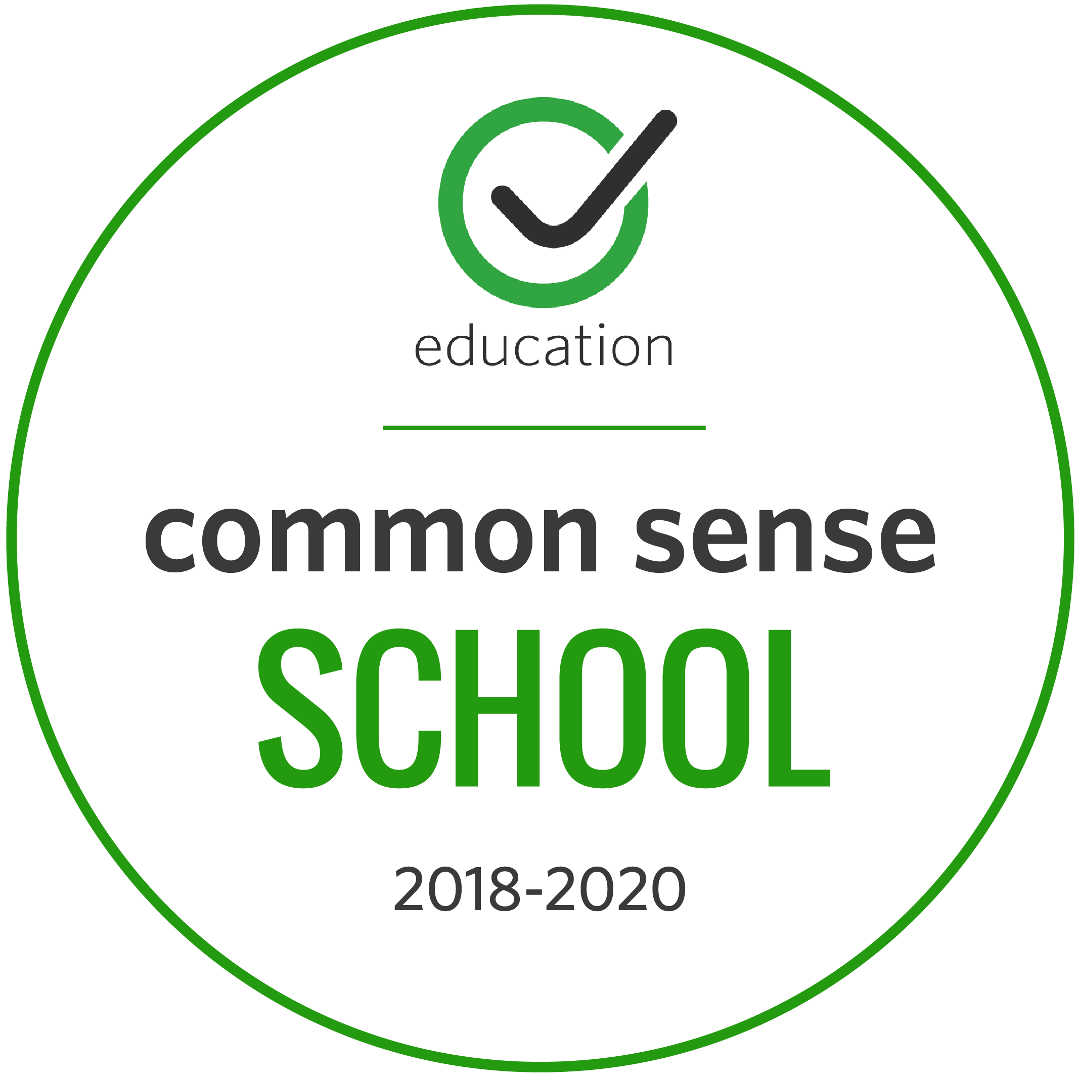 Common Sense School 2018-2020
