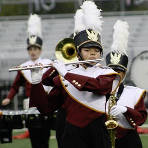 Band and Flags Club at Paint Branch High School