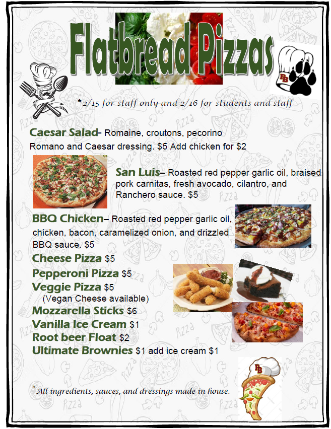 Paw Menu Feb 12