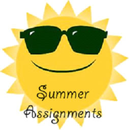 Image result for summer assignment