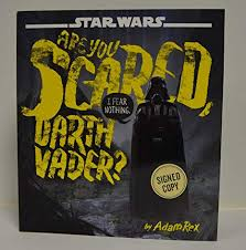 Image result for are you scared darth vader book