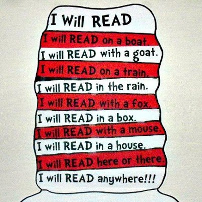 Dr. Seuss reading quotation
