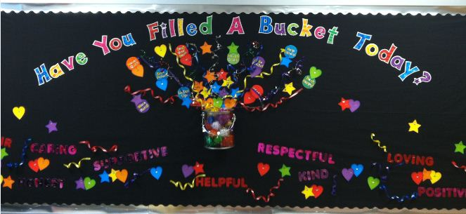 bucket bulletin board