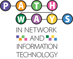 Pathway in Network and Info Tech Logo