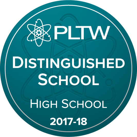 PLTW Distinguished School 2017-18