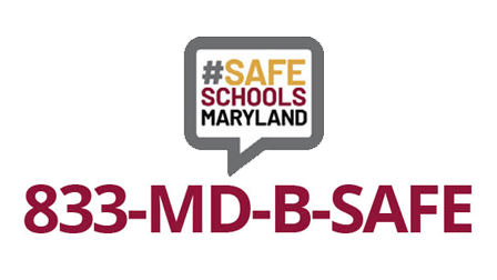Safe Schools Maryland Tip Line